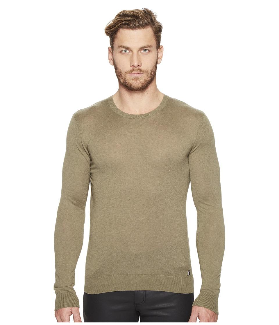 Versace Collection - V-Neck Sweater (Verde) Men's Sweater