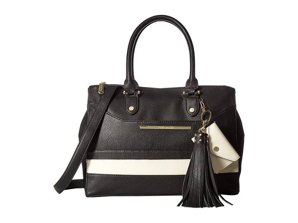 Steve Madden - Btriple (Black/Bone) Tote Handbags