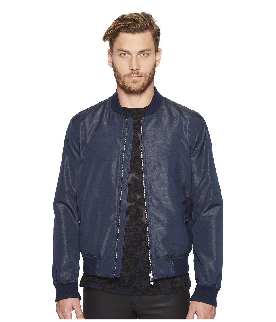 Versace Collection - Bomber Jacket (Blue) Men's Coat