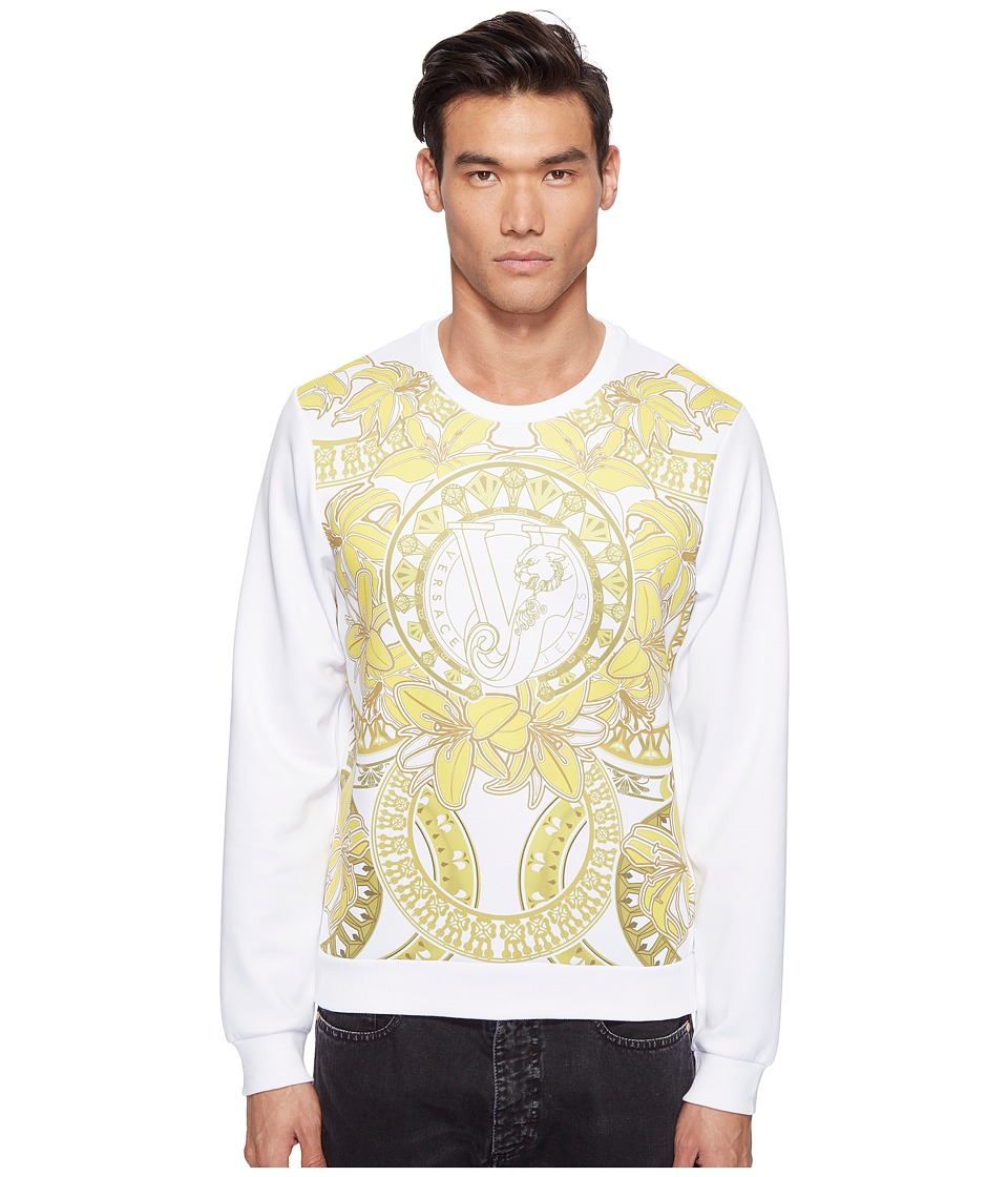 Versace Jeans - Light Sweater EB7GPB7F7 (Bianco) Men's Sweater