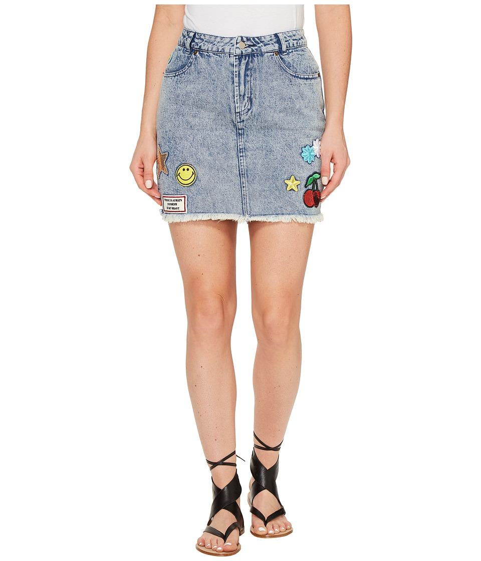 Brigitte Bailey - Dromond Denim Skirt (Denim) Women's Skirt
