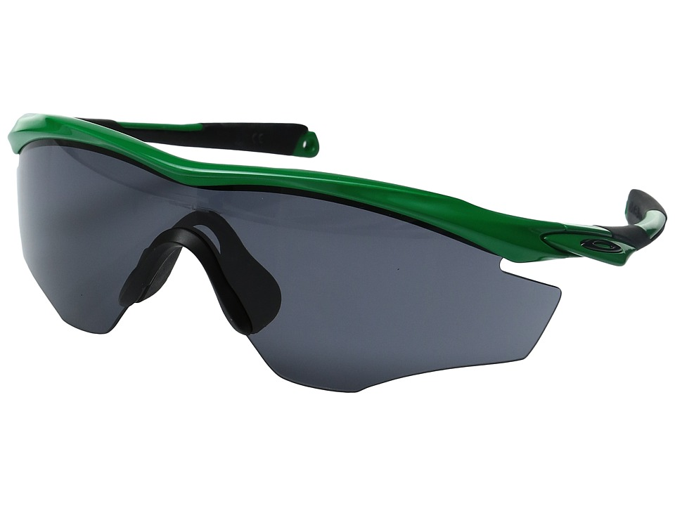 Oakley - MPH M2 (Team Bright Green/Grey) Sport Sunglasses