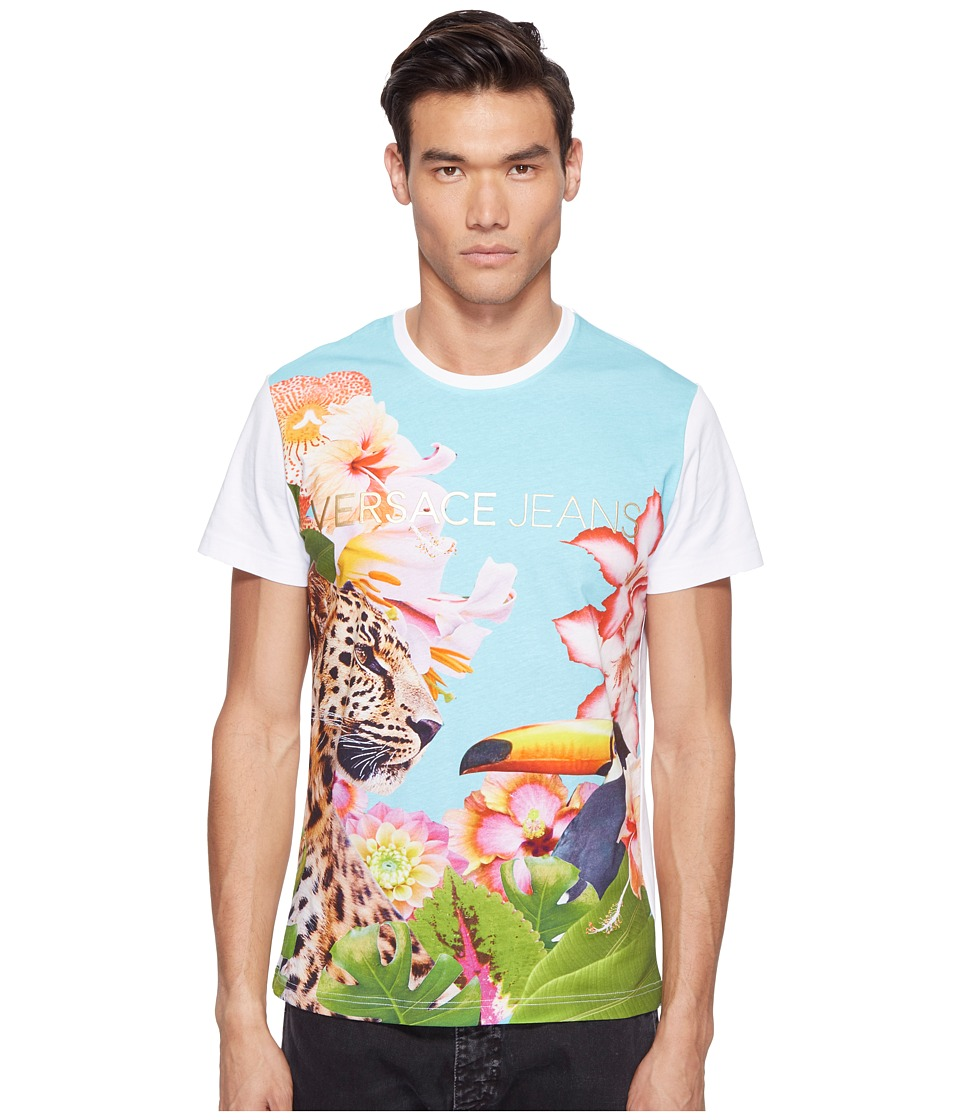 Versace Jeans - T-Shirt EB3GPB754 (Bianco) Men's T Shirt