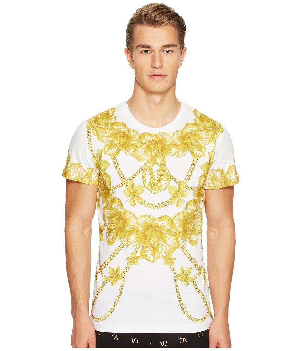 Versace Jeans - T-Shirt EB3GPB7G4 (Bianco) Men's T Shirt
