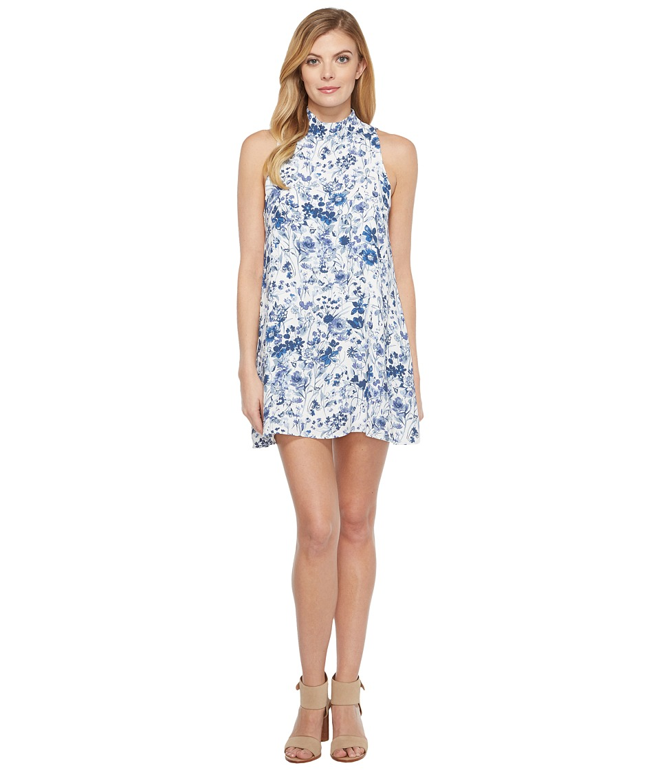 Brigitte Bailey - Ketch Dress (Blue Floral) Women's Dress