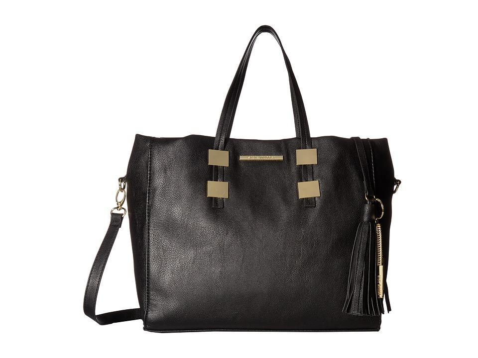 Steve Madden - Blovely3 Tote (Black) Tote Handbags