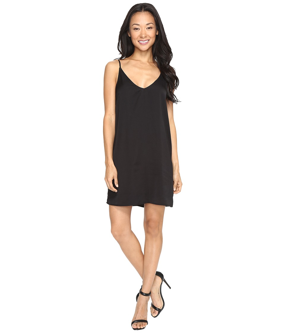 Brigitte Bailey - Flying Dutchman Slip Dress (Black) Women's Dress
