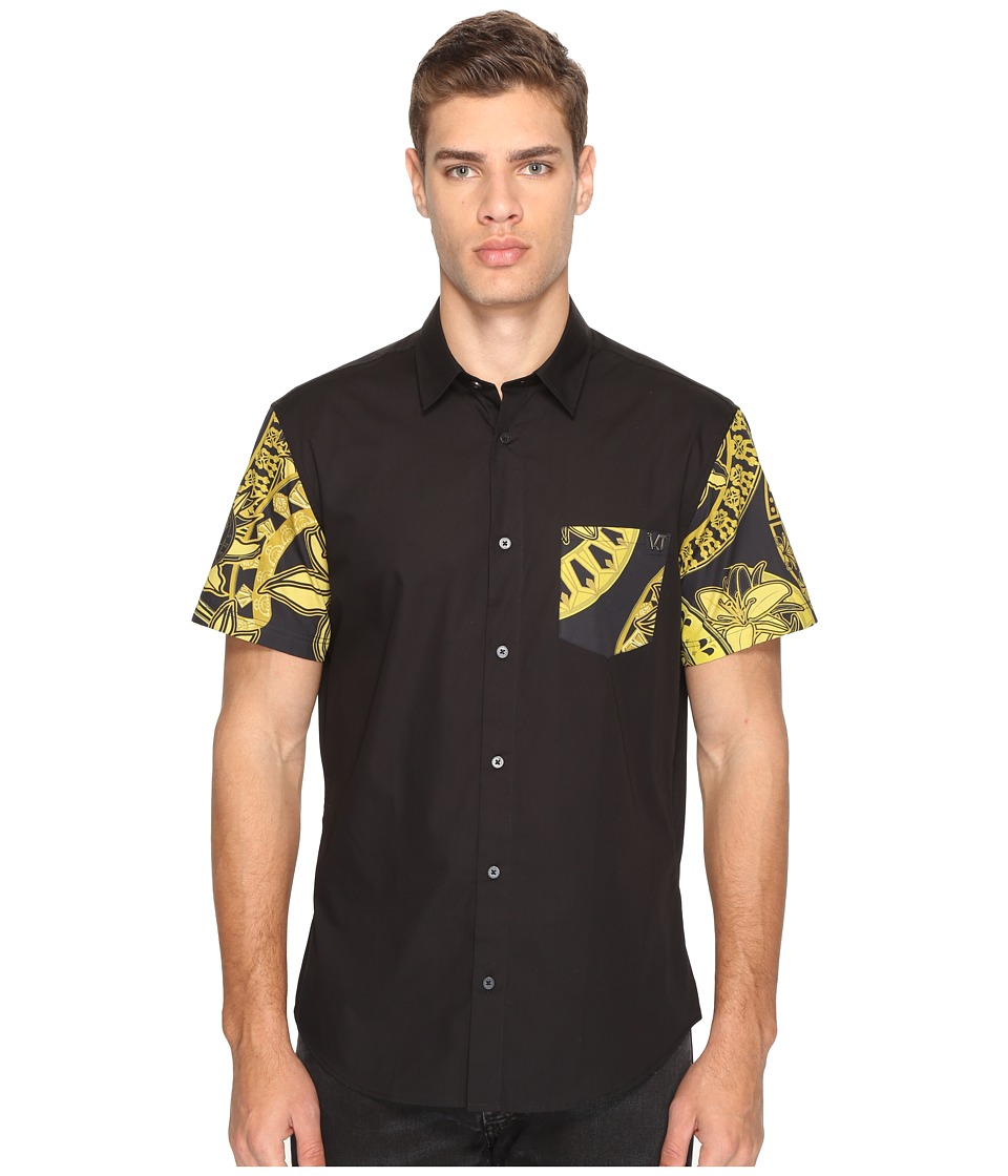 Versace Jeans - Shirt EB1GPB6RF (Nero) Men's Clothing