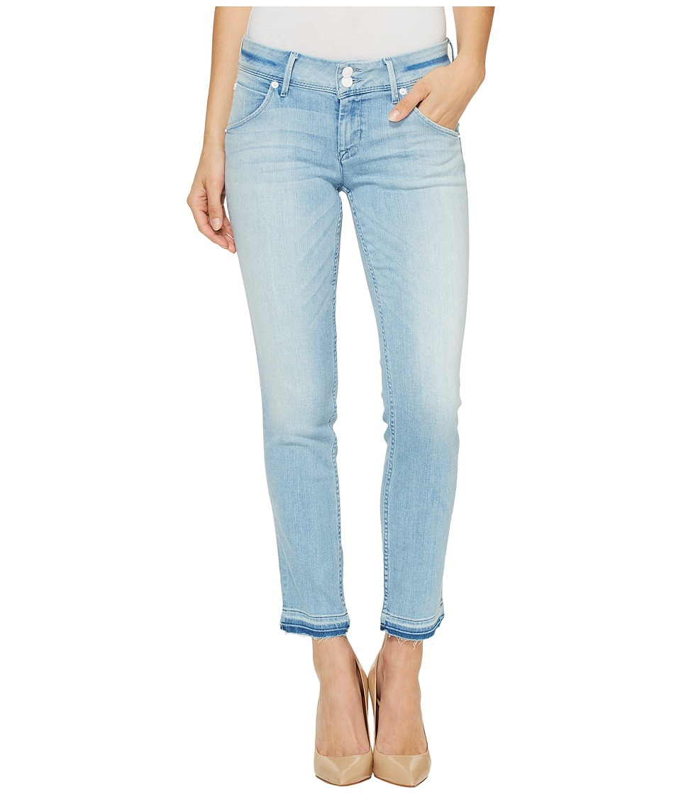 Hudson - Collin Skinny Crop Released Hem Flap Pocket Jeans in Light Azure (Light Azure) Women's Jeans