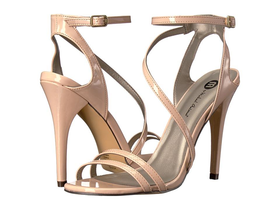 Michael Antonio - Ester - Patent (Nude Patent) High Heels