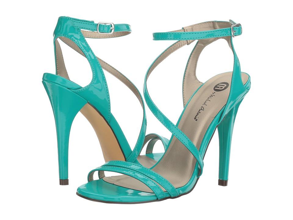 Michael Antonio - Ester - Patent (Turquoise Patent) High Heels