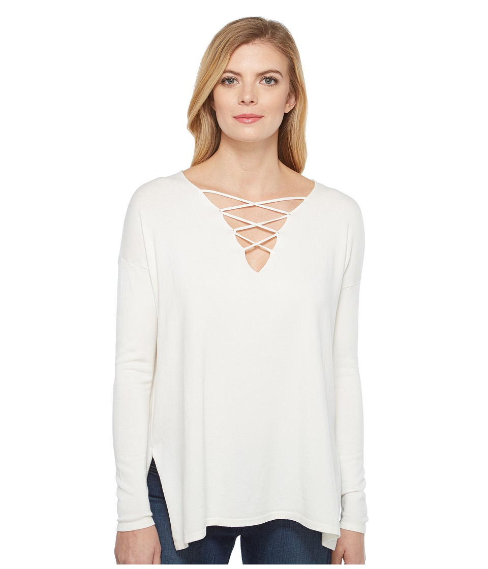 Brigitte Bailey - Topsail Long Sleeve Top (Ivory) Women's Clothing