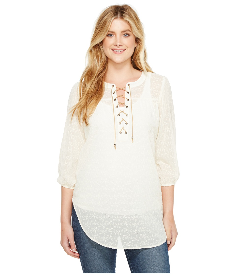 Tasha Polizzi - Willamette Top (White) Women's Clothing