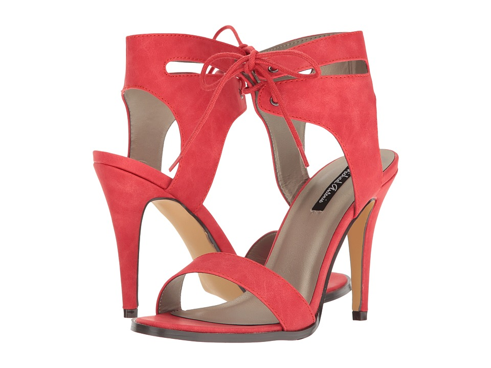 Michael Antonio - Lines (Red Nubuck PU) High Heels