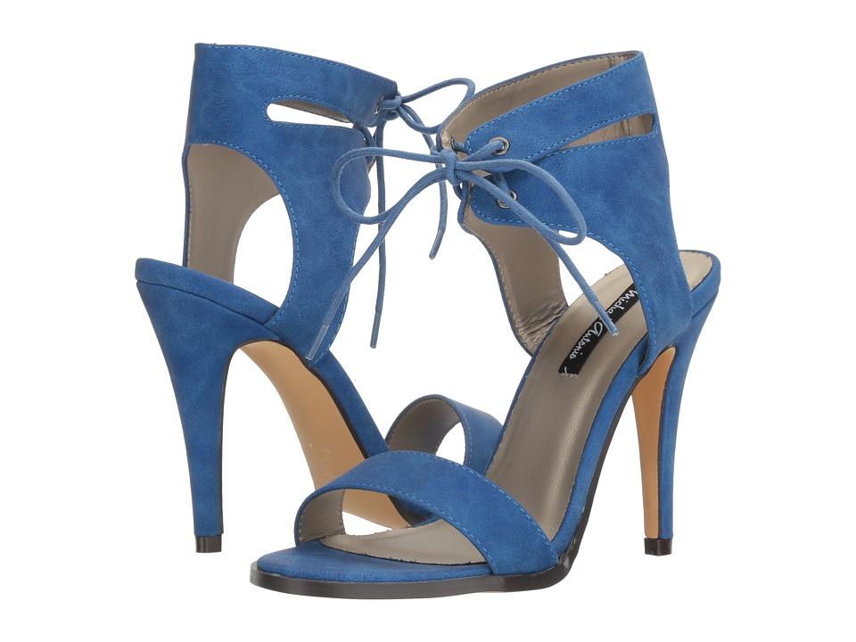 Michael Antonio Lines (Blue Nubuck PU) High Heels