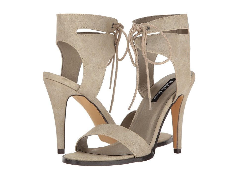 Michael Antonio - Lines (Winter White Nubuck PU) High Heels