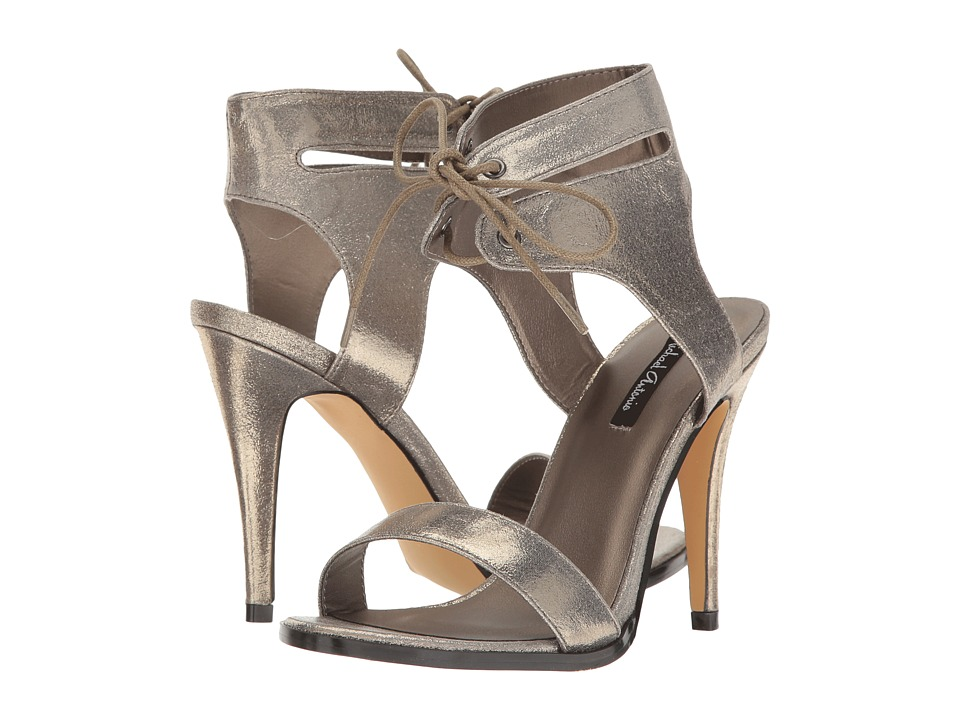 Michael Antonio - Lines - Metallic (Pewter Metallic PU) High Heels