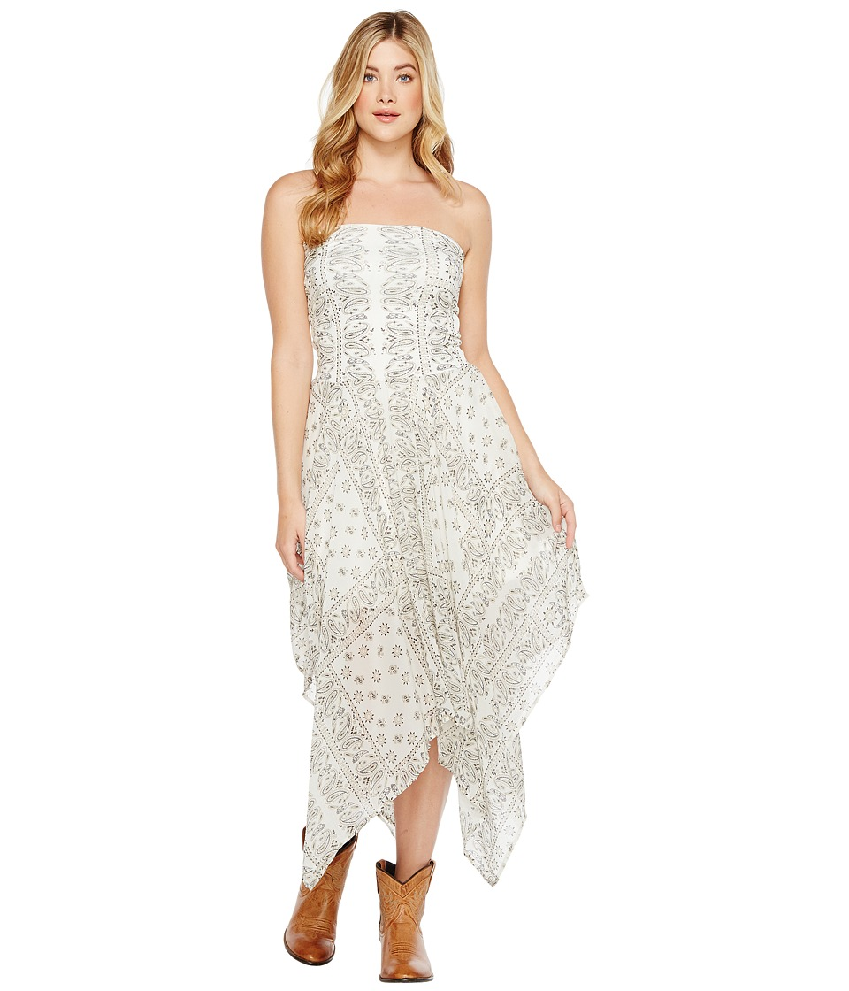 Tasha Polizzi - Bandeau Dress (Cream) Women's Dress