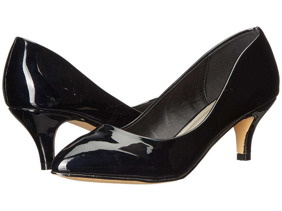 Michael Antonio - Jimmy - Patent (Black Patent) Women's 1-2 inch heel Shoes