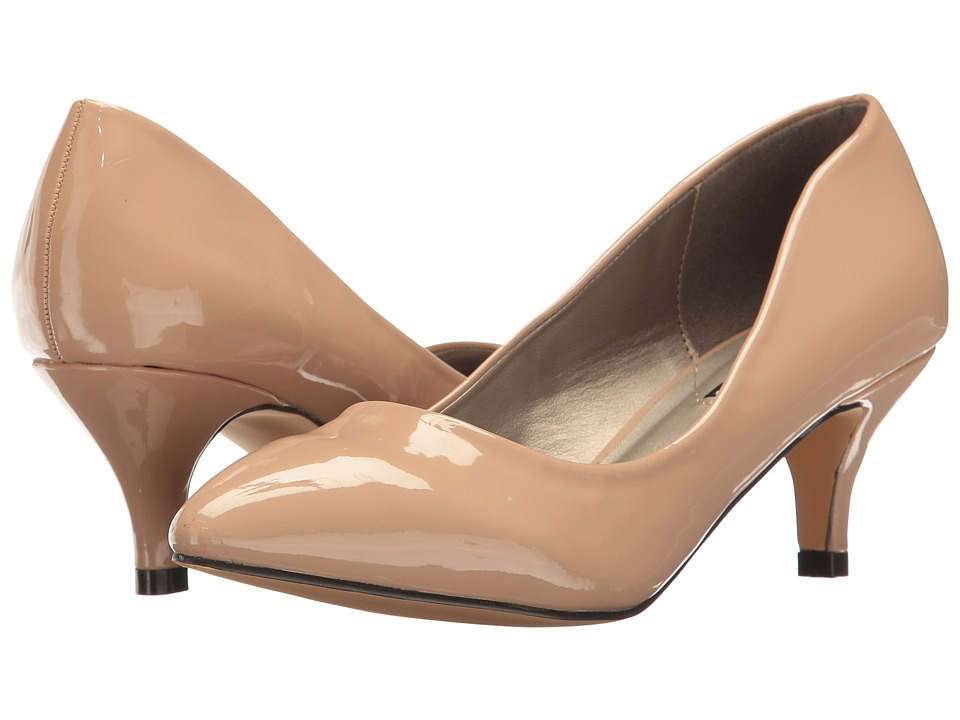 Michael Antonio - Jimmy - Patent (Nude Patent) Women's 1-2 inch heel Shoes