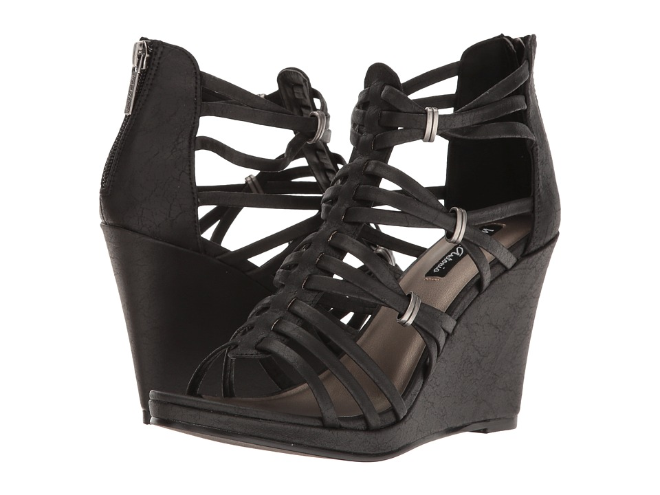 Michael Antonio - Answer (Black Vintage PU) Women's Sandals