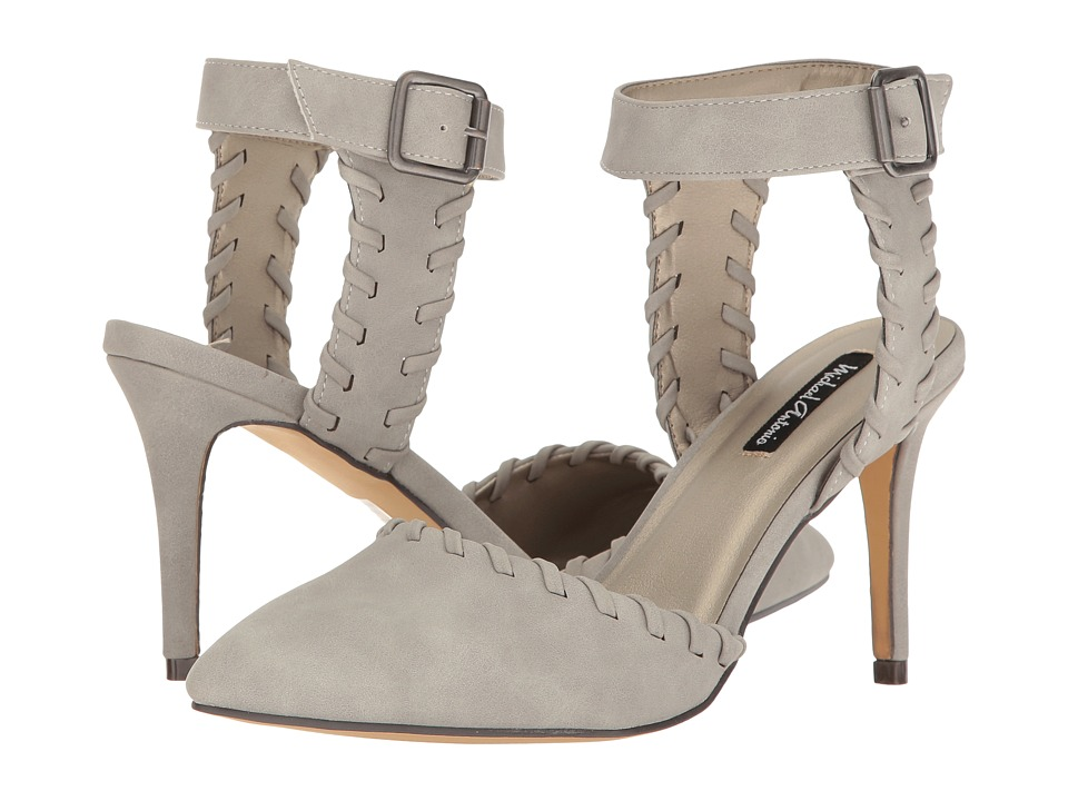 Michael Antonio - Luxen (Grey Nubuck PU) High Heels