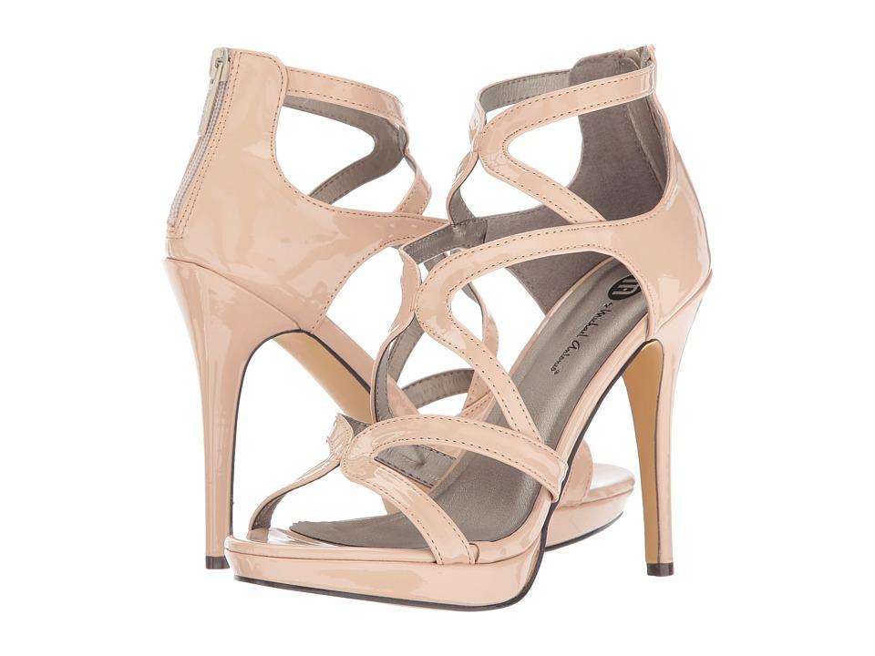 Michael Antonio - Riot - Patent (Nude Patent) High Heels