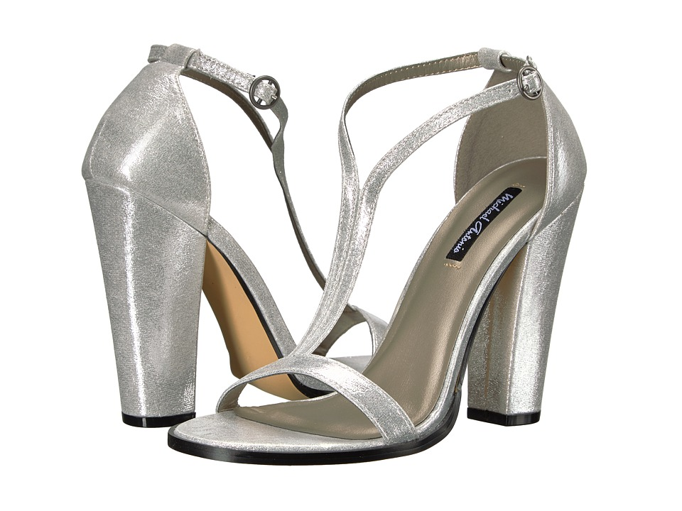 Michael Antonio - Jons - Metallic (Silver Metallic PU) High Heels