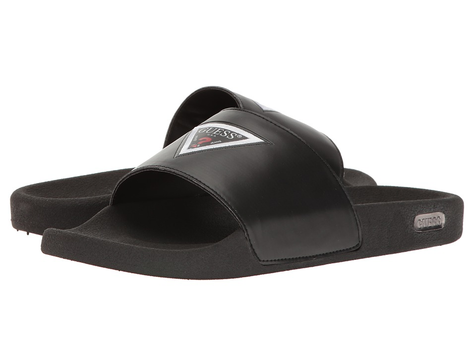 GUESS - Isaac (Black) Men's Sandals