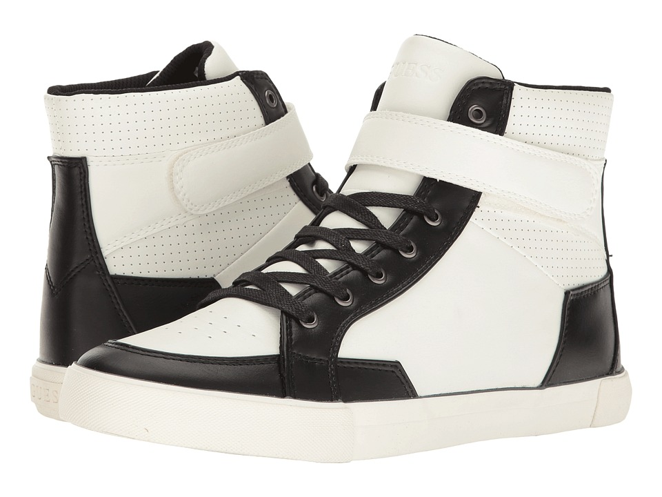 GUESS - Mendoza (White) Men's Shoes