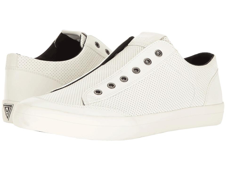 GUESS - Mitt 2 (White) Men's Shoes