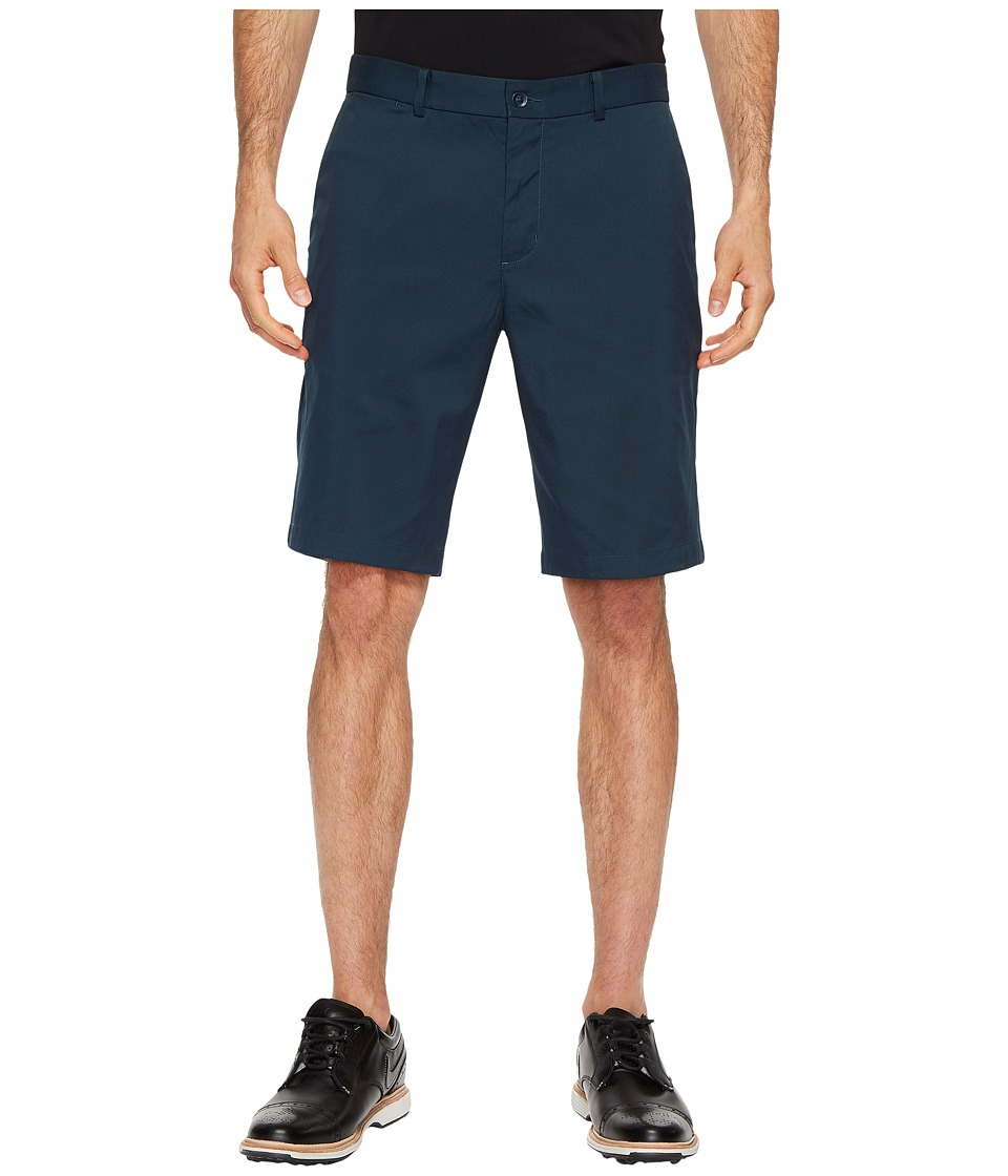 Nike Golf Flat Front Shorts (Armory Navy/Armory Navy) Men