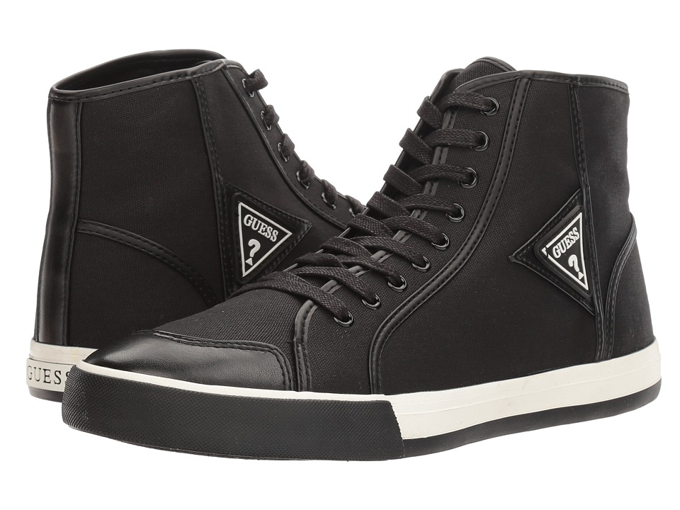 GUESS - Morales (Black) Men's Shoes