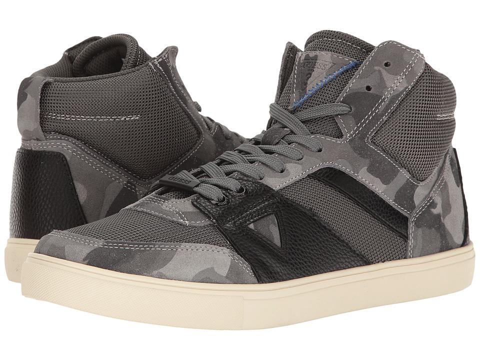 GUESS - Thresh (Grey) Men's Shoes