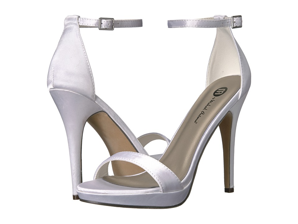 Michael Antonio - Lovina - Satin (White) Women's Shoes