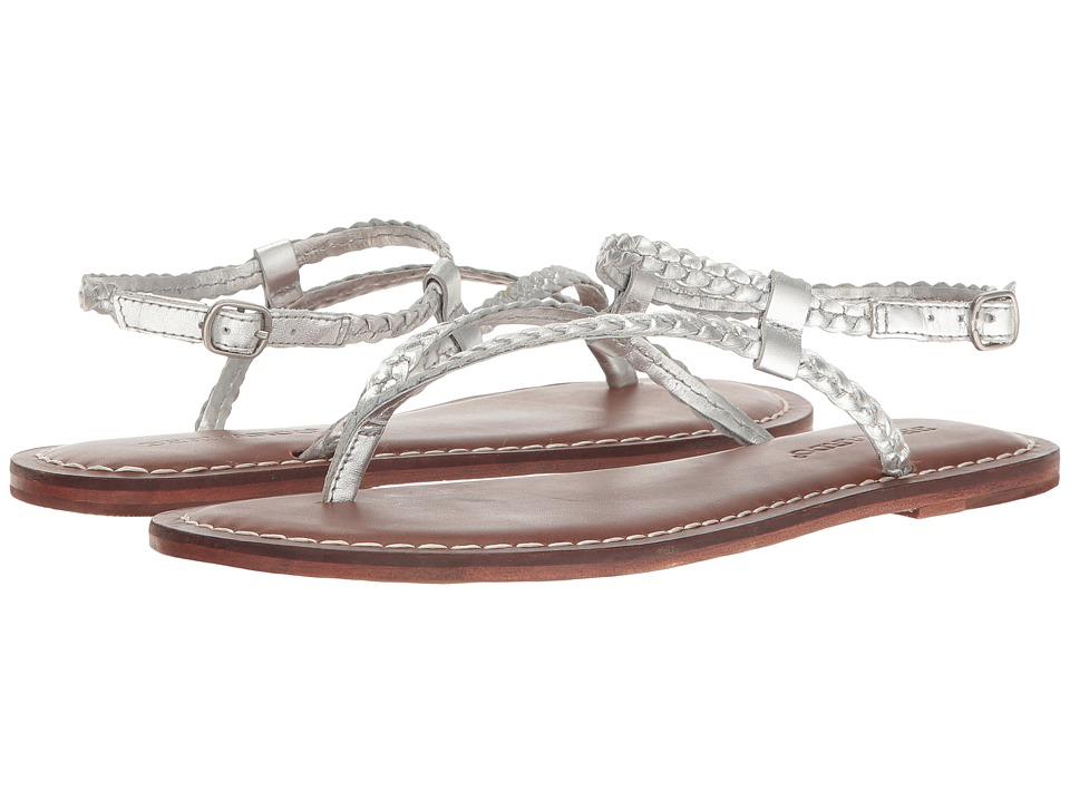 Bernardo - Merit Woven (Silver Calf) Women's Sandals