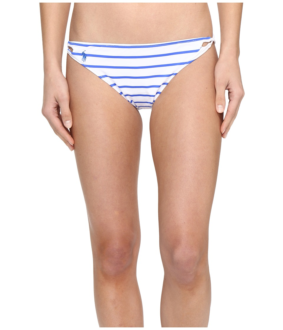 Polo Ralph Lauren French Stripe Side Laced Hipster (French Blue) Women