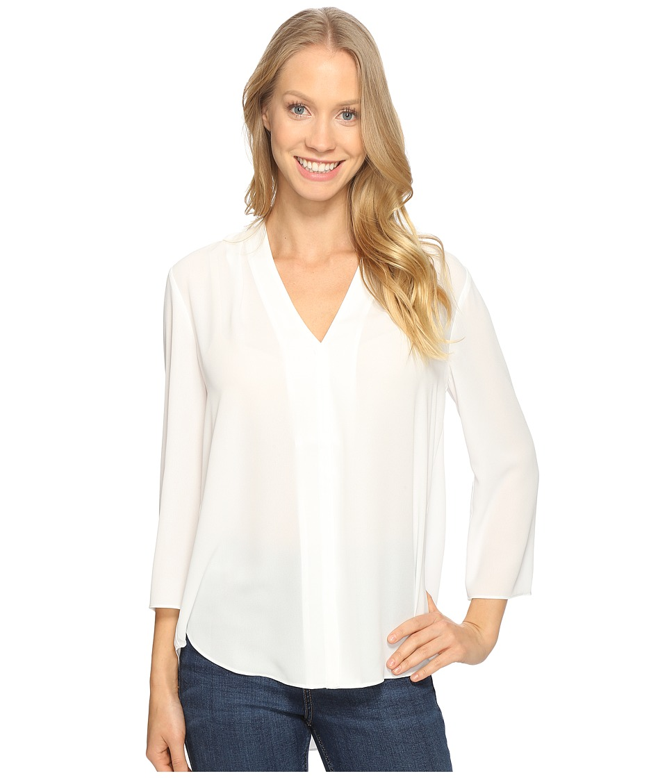NYDJ - Origami Tunic (Optic White) Women's Clothing