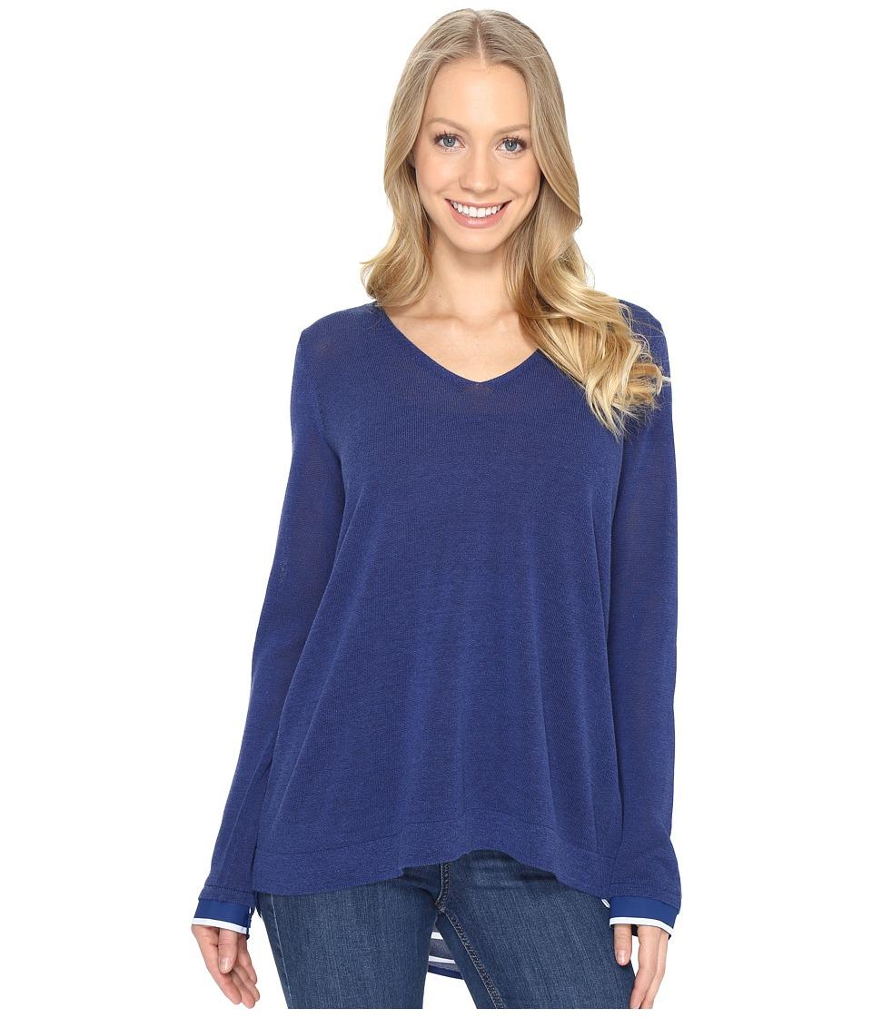 NYDJ - Twofer Sweater (Dark Atlantis) Women's Sweater