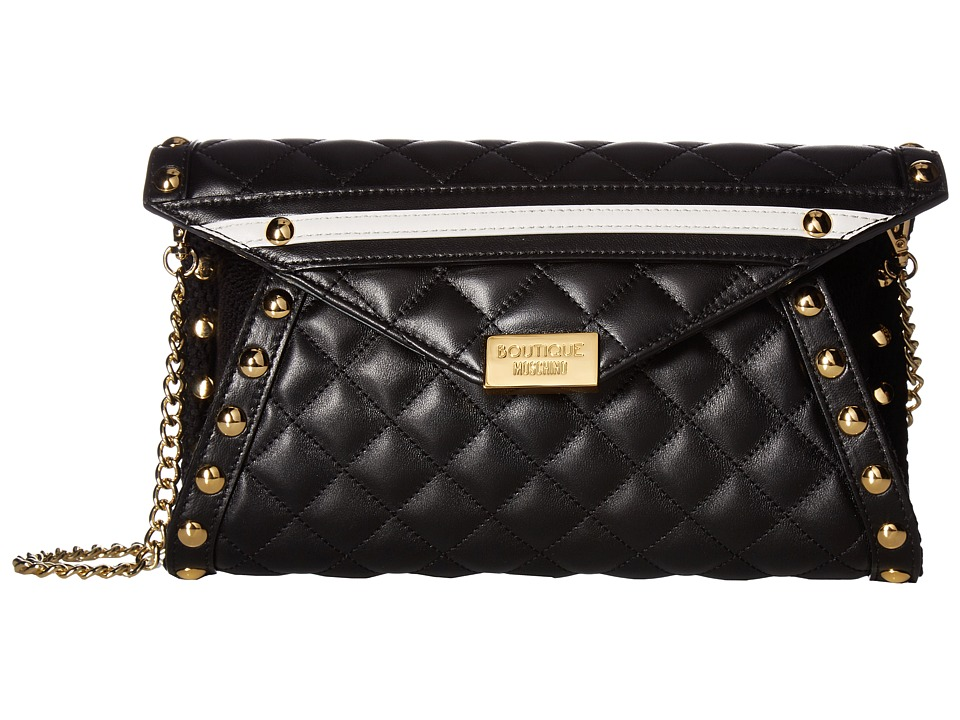 Boutique Moschino - Quilted Bag (Black) Bags