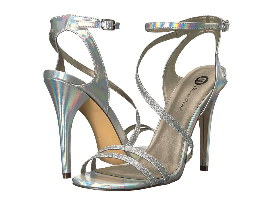 Michael Antonio - Ester - Glitter (Silver) Women's Dress Sandals