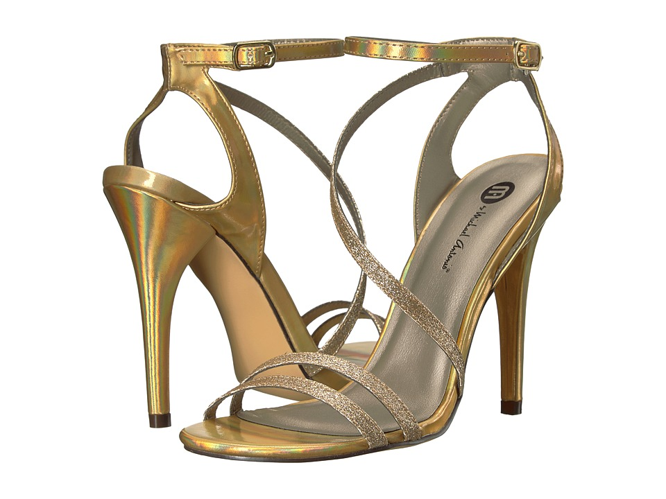Michael Antonio - Ester - Glitter (Nude) Women's Dress Sandals