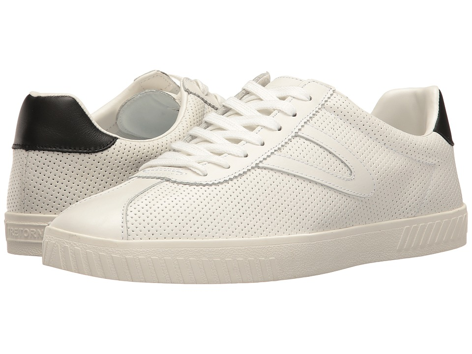 Tretorn Camden 2 (White/White/Black) Men