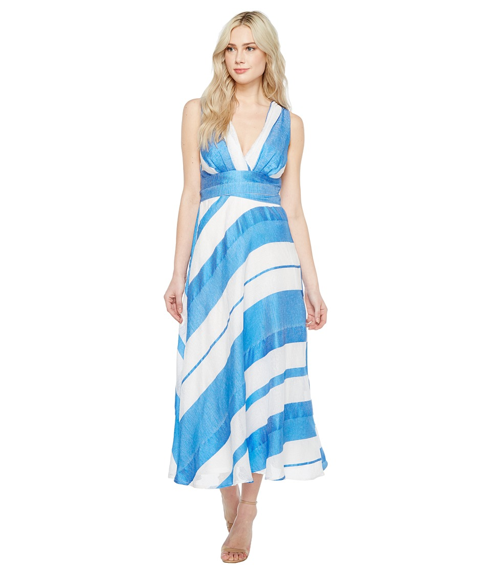 Eva by Eva Franco - Venice Dress (Mykonos Stripe) Women's Dress