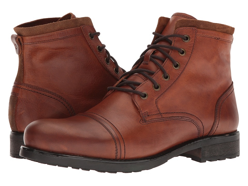 ALDO Willhard Cognac Mens Lace-up Boots