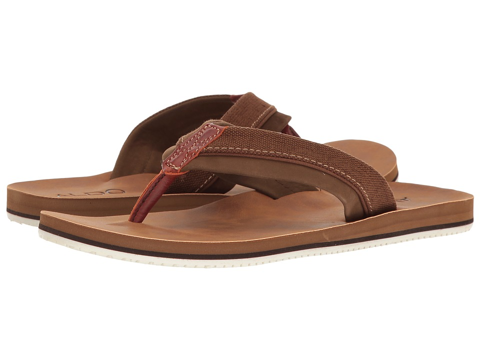 ALDO - Galoisa (Dark Brown) Men's Sandals