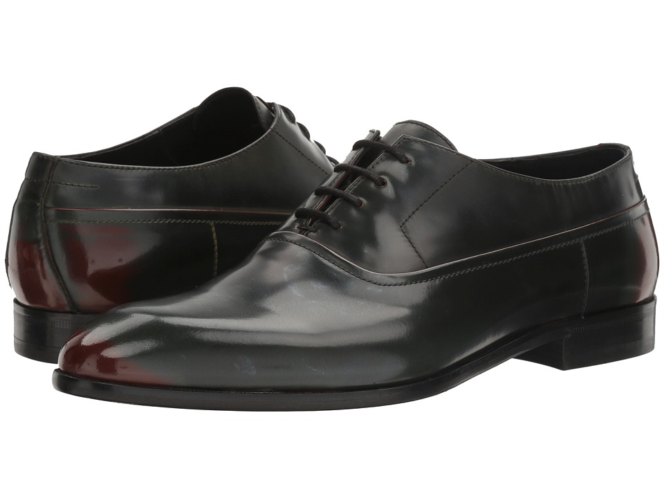 BOSS Hugo Boss - Dress Appeal Oxford (Dark Green) Men's Shoes