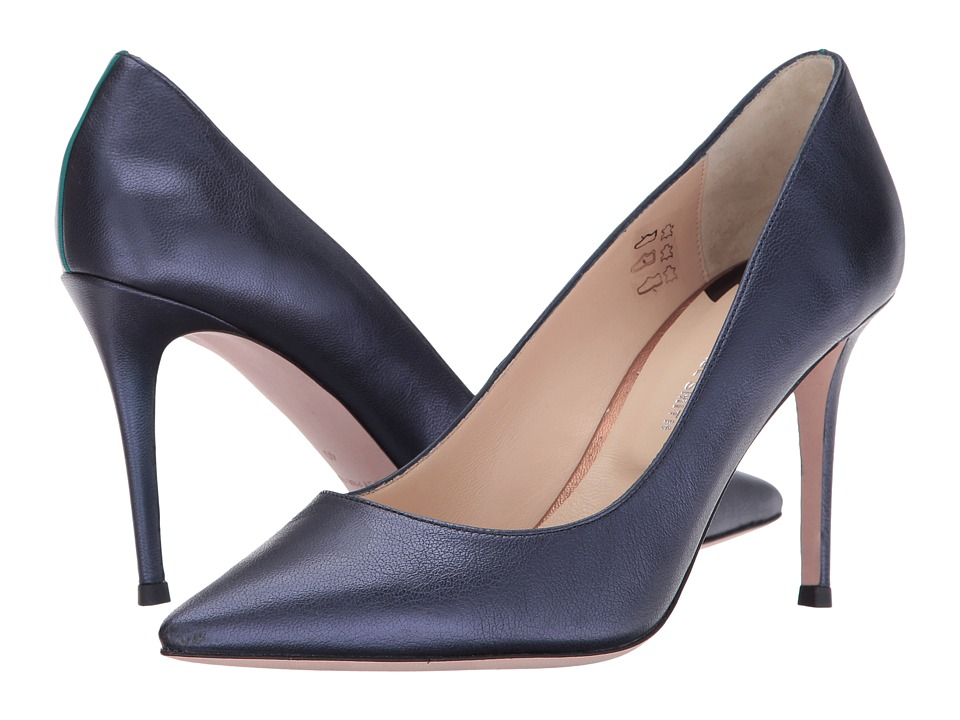 Paul Smith PS Keira Heel (Navy Metallic) Women