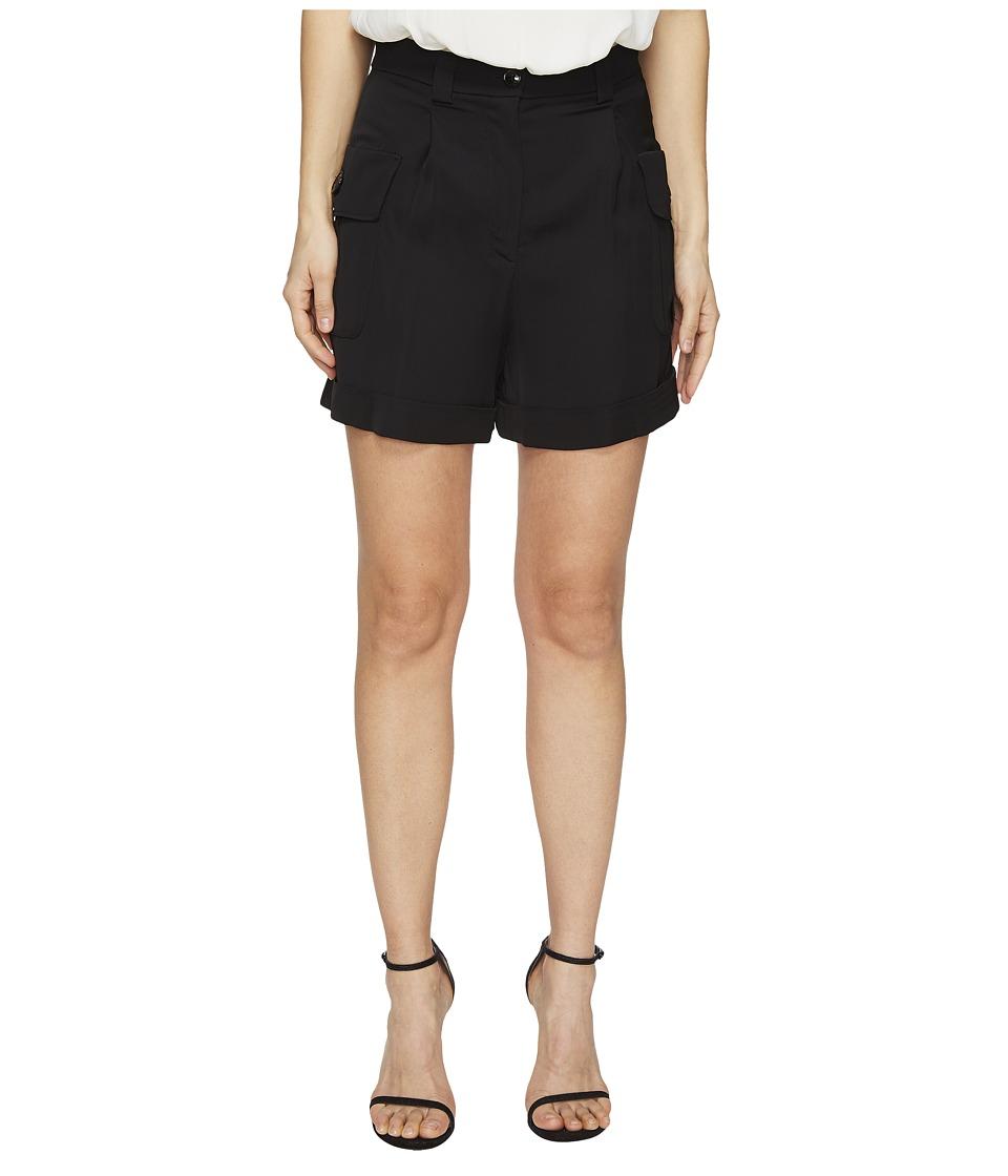 Boutique Moschino - Cargo Shorts (Black) Women's Shorts