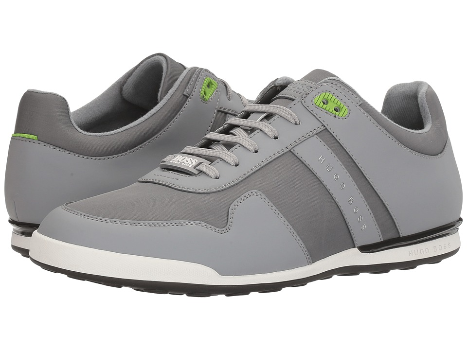 BOSS Hugo Boss - Arkansas Sneakers by BOSS Green (Medium Grey) Men's Shoes